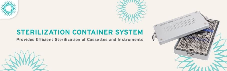 Sterilization Containers Header