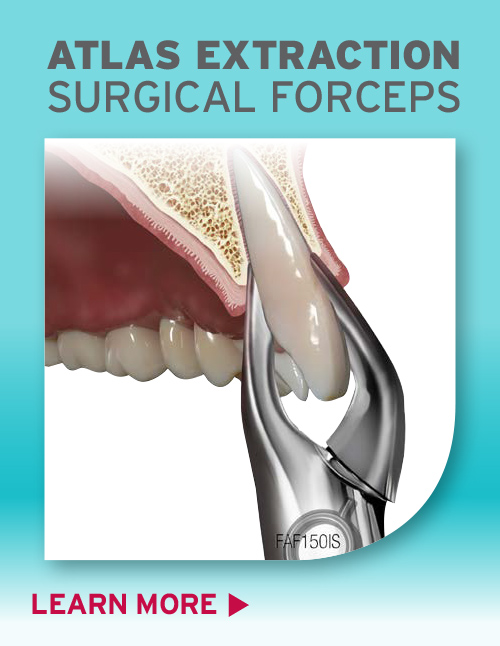 Surgical Atlas Forceps by Hu-Friedy