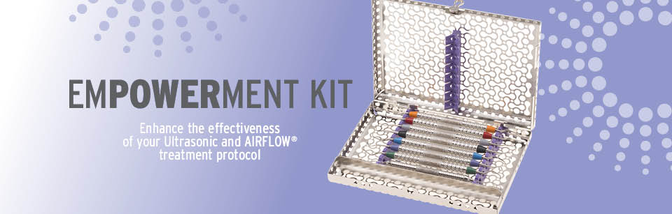 Enhance the effectiveness of your ultrasonic and airflow treatment protocol