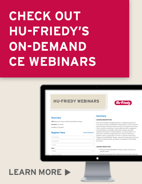 Hu-Friedy On Demand Webinars