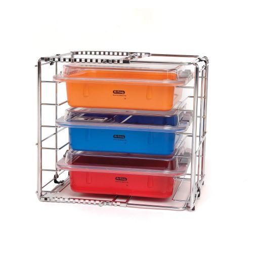 Signature Series® Adjustable 3 Tub Rack | Hu-Friedy