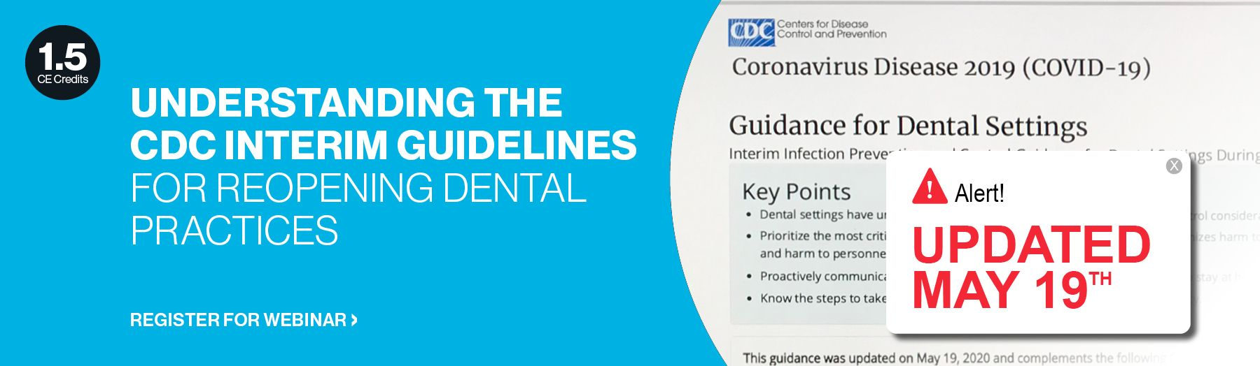 Understanding the CDC interim guidelines for reopening dental practices